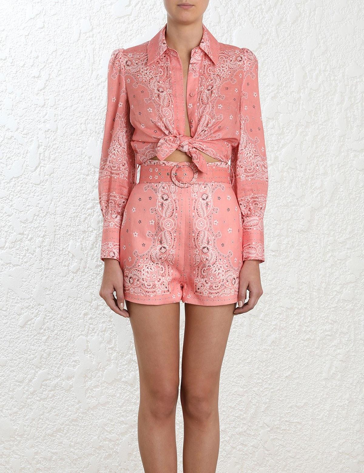Heathers Bandana Shirt and Shorts