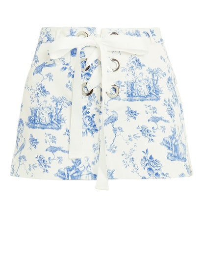 Delphine Lace-Up Shorts