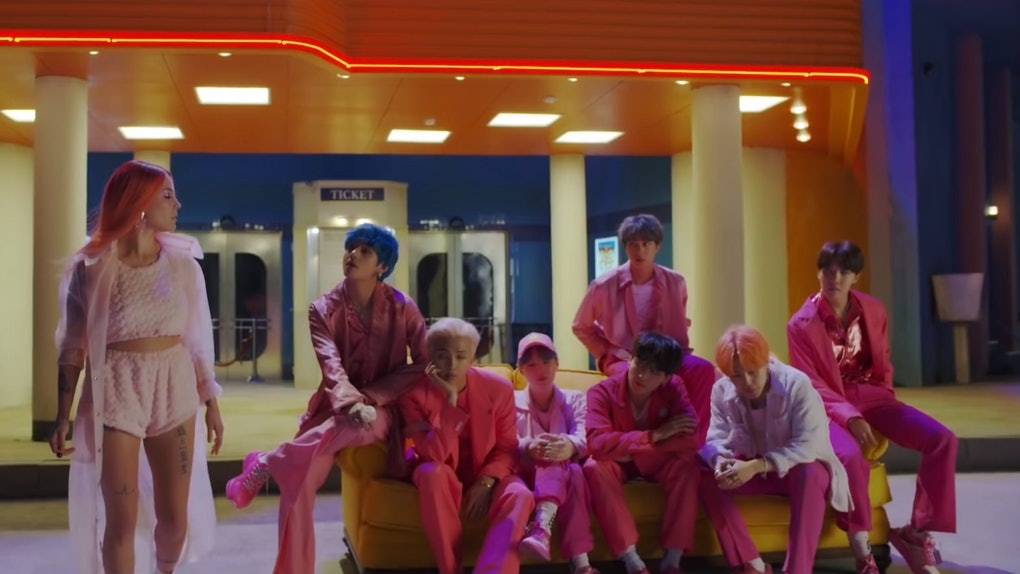 Bts Boy With Luv Music Video Teaser Featuring Halsey Is Already