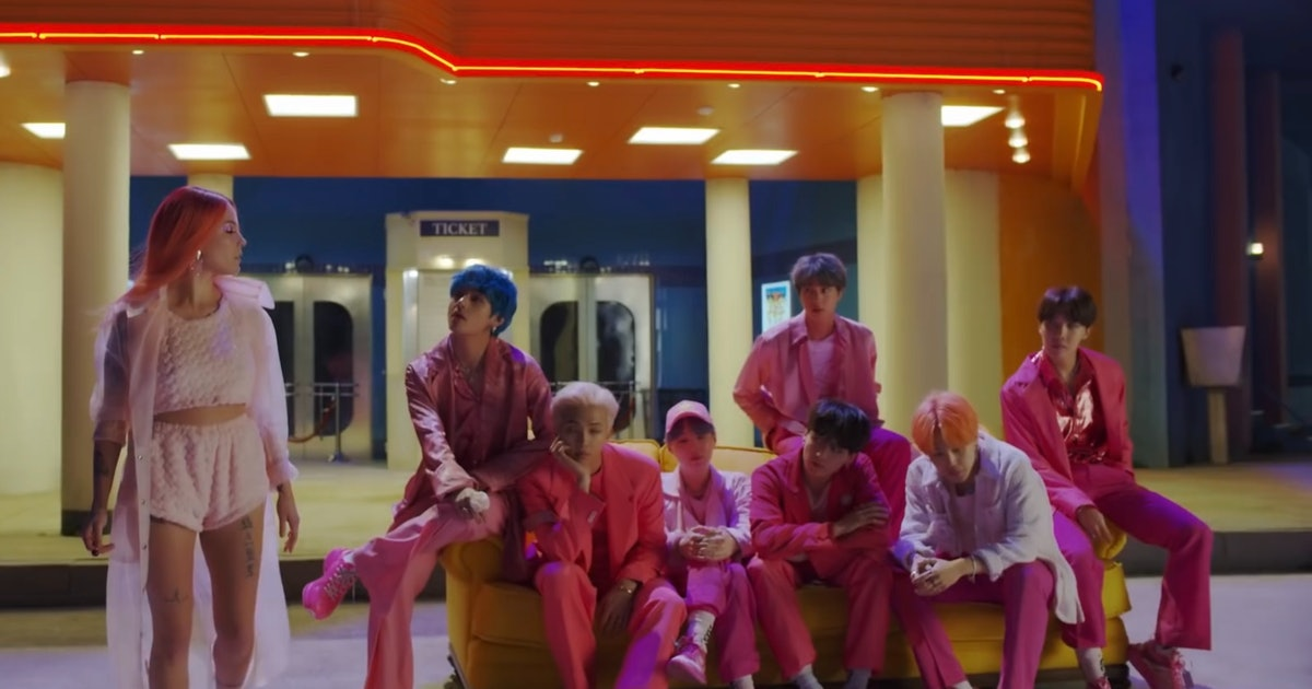 Bts Quot Boy With Luv Quot Music Video Teaser Featuring Halsey Is