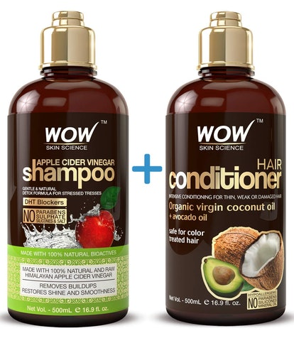 WOW Apple Cider Vinegar Shampoo And Conditioner