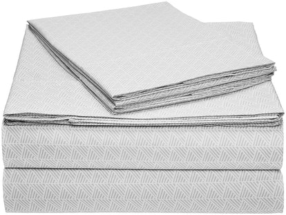 AmazonBasics Microfiber King Sheet Set
