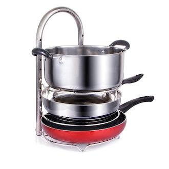 Lifewit Adjustable Pot And Pan Organizer