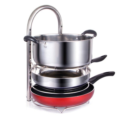 Lifewit Adjustable Pot And Pan Organizer