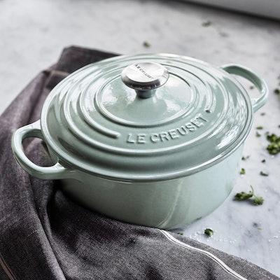 Le Creuset Round Dutch Oven, 2.75 qt., Sea Salt