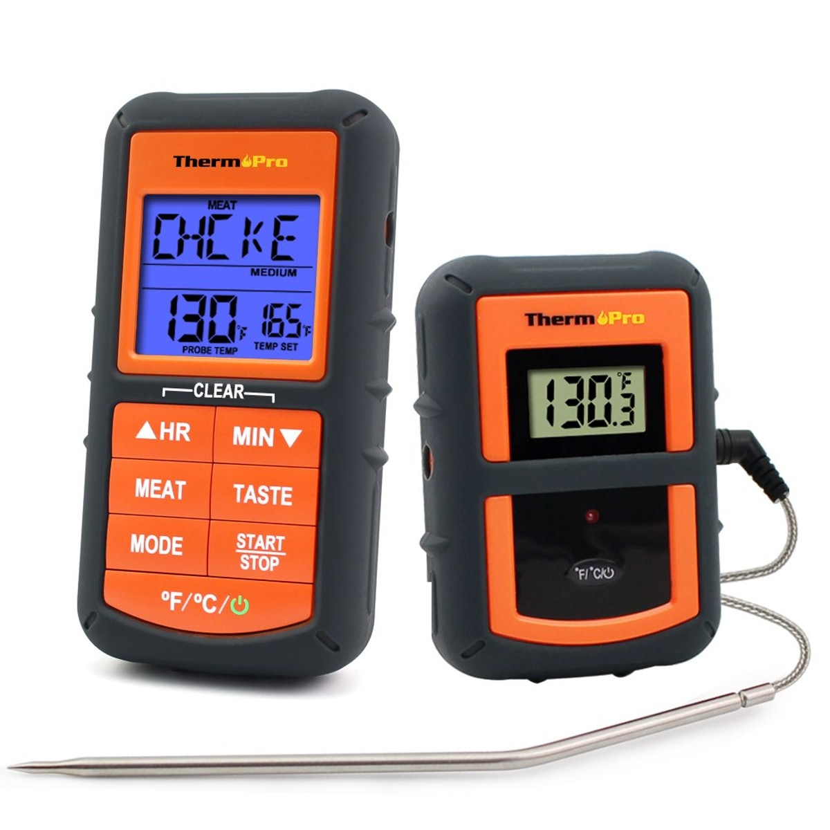 ThermoPro TP-07 Wireless Remote Digital Meat Thermometer