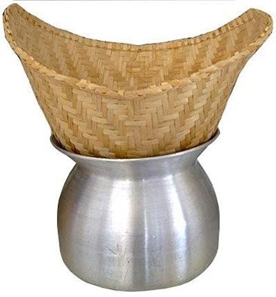 Thailand Sticky Rice Steamer Pot and Basket