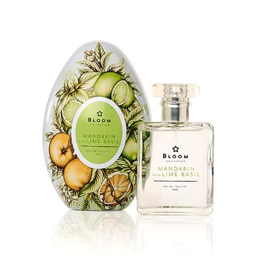 Superdrug Bloom Mandarin & Lime Basil Beauty EDT Egg