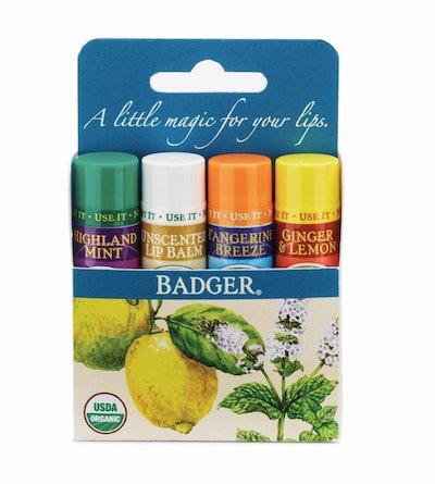 Badger Classic Lip Balms