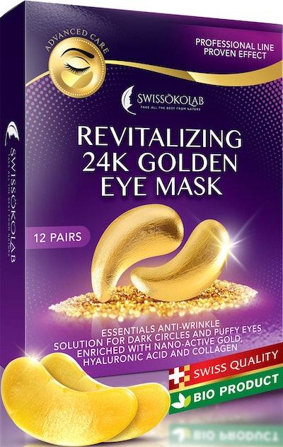 SWISSÖKOLAB 24K Gold Eye Masks