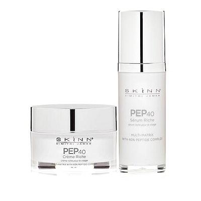 Skinn Cosmetics PEP40 2-Piece Peptide Skincare Set