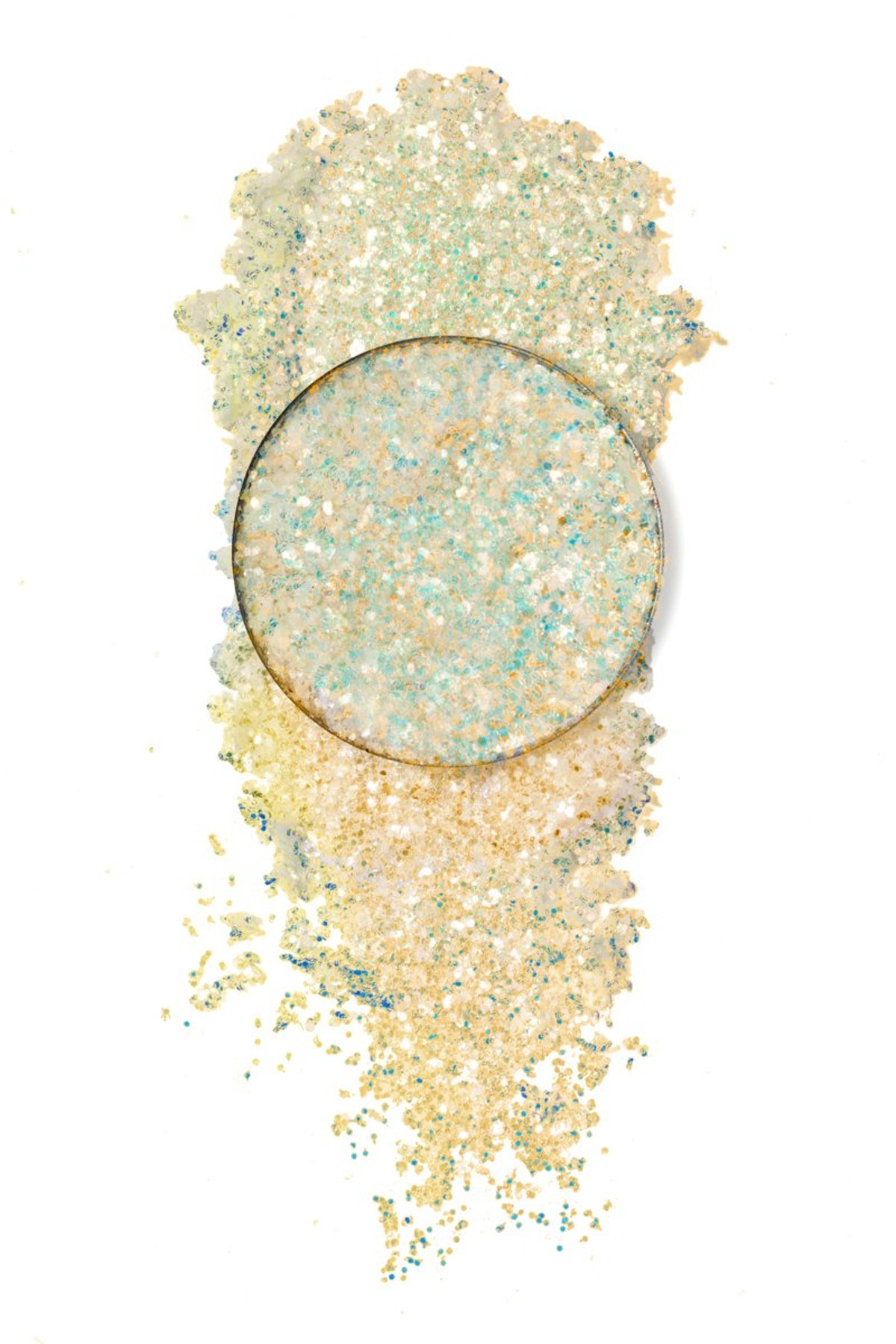 """Pressed Glitter in """"Hungry Ghost"""""""