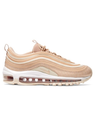 Air Max 97 LX Croc-Effect Leather and Mesh Sneakers