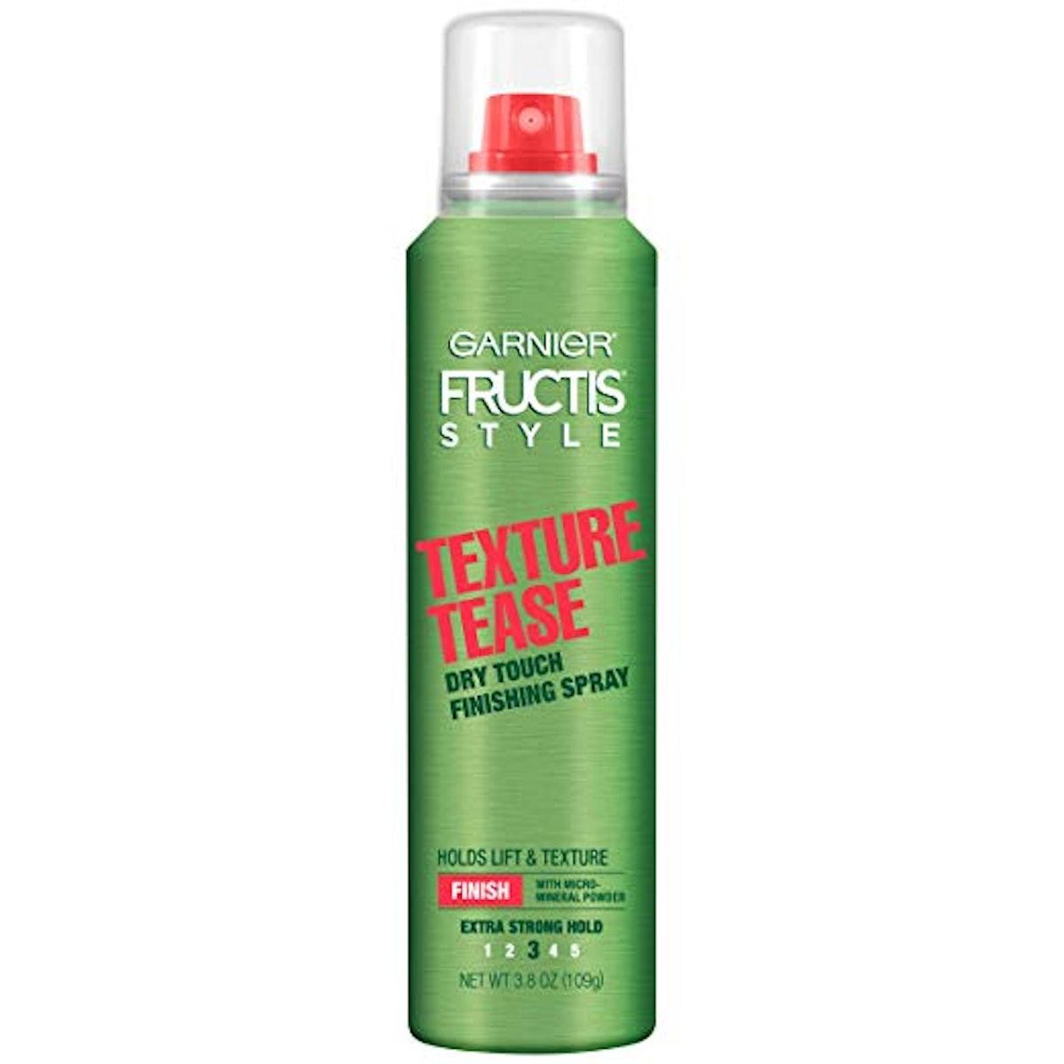 Garnier Fructis Texture Tease Dry Touch Finishing Spray