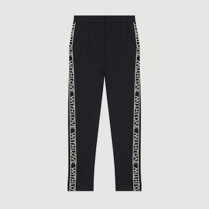 Jogging Pants with Elastic Waist