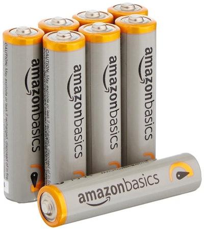 AmazonBasics AAA Performance Alkaline Batteries (8 Pack)