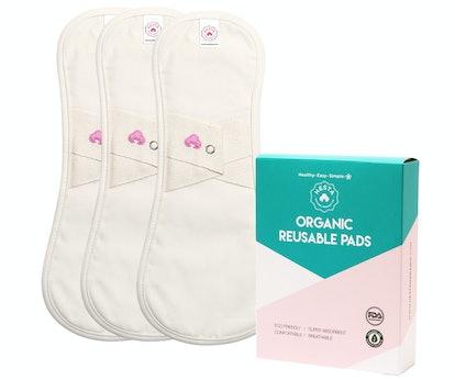Hesta Organic Cotton Reusable Cloth Liners (3 Count)