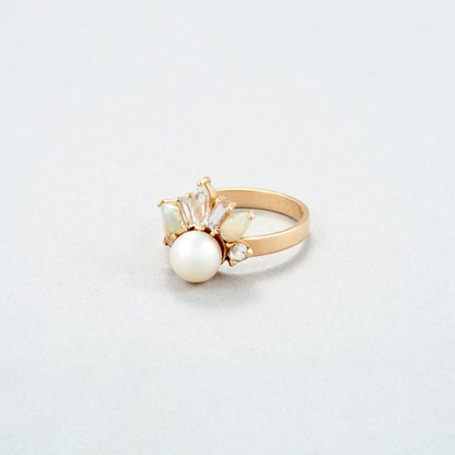 Crowned Jewel Pearl Ring