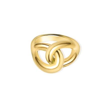 Interlock Pinky Ring