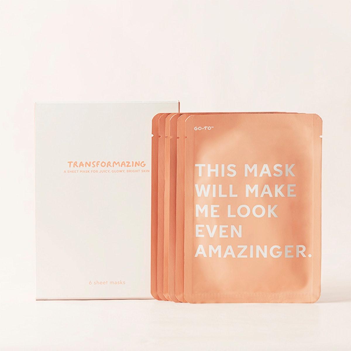 Box of Six Transformazing Sheet Masks