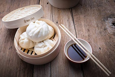 Helen Chen's Asian Bamboo Steamers (2 Pack)