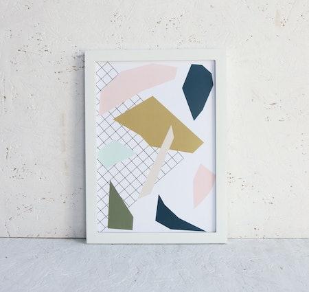 Abstract Shapes Wall Art