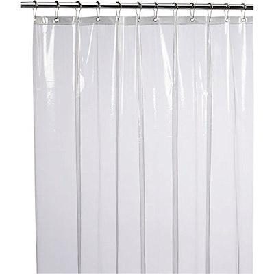 LiBi Mildew-Resistant Shower Curtain Liner