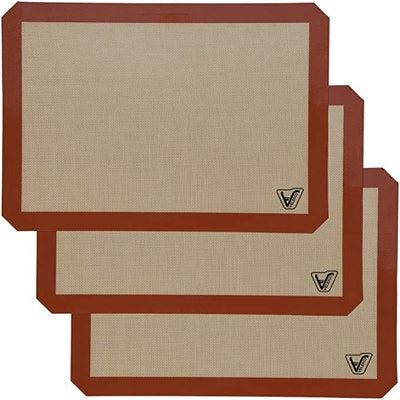 Velesco Silicone Baking Mat (3 Pack)