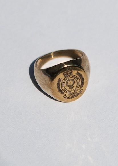 Feminist Symbol Pinky Ring