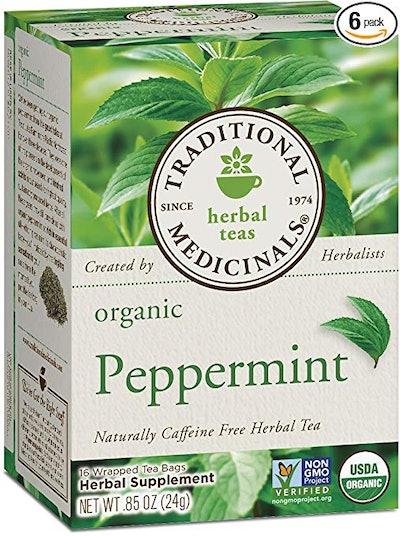 Organic Peppermint Herbal Leaf Tea