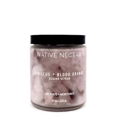 Hibiscus and Blood Orange Scrub