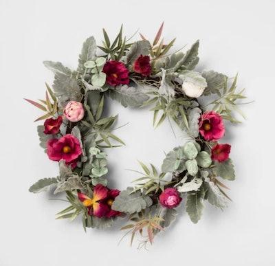 Artificial Ranunculus Wreath