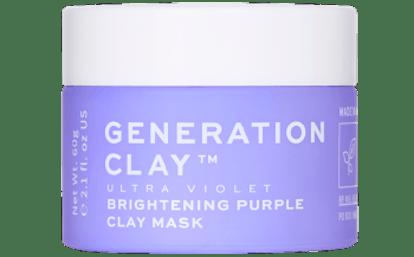 Ultra Violet Brightening Purple Clay Mask