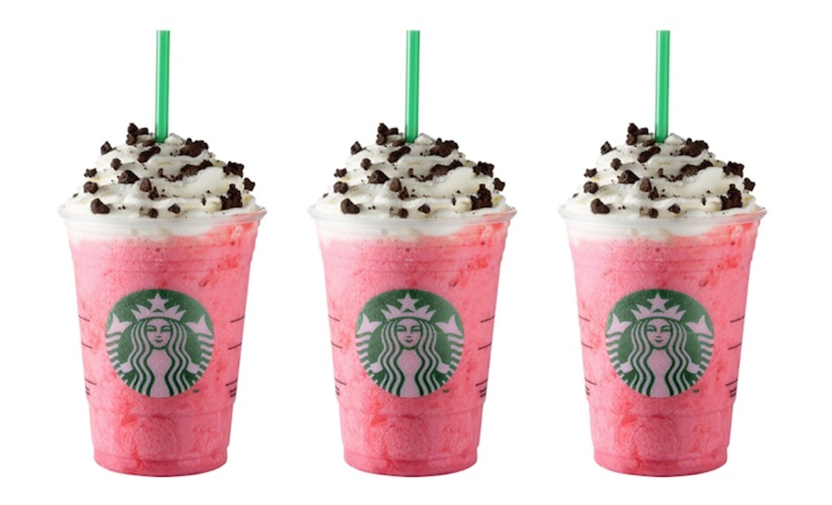 Starbucks' New Pink Flamingo Frappuccino Is The Insta-Worthy Drink Of The Season