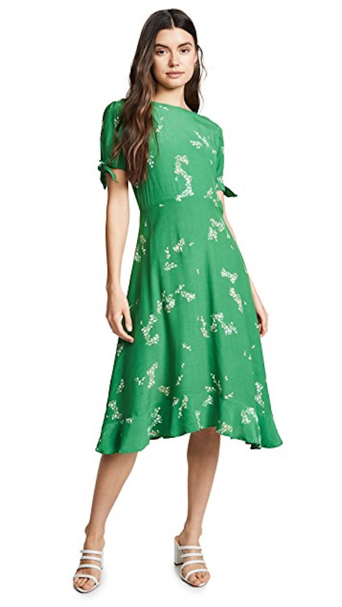 FAITHFULL THE BRAND Emilia Midi Dress