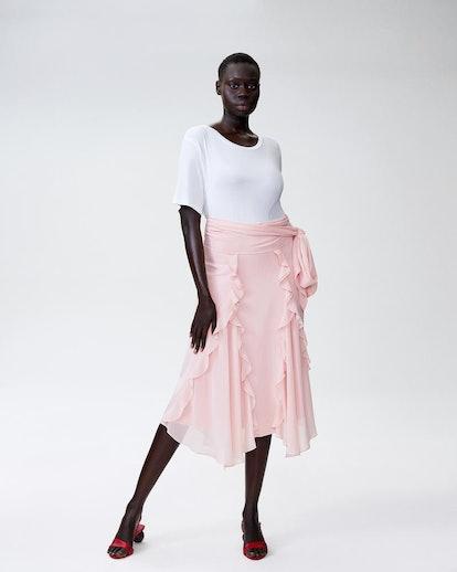 Rodarte x Universal Standard Skirt - Rose