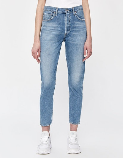 Liya High Rise Classic Fit Jean in Wild Side