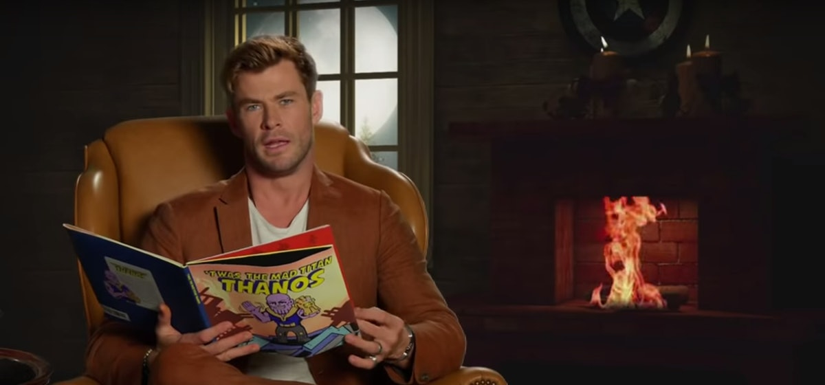 Chris Hemsworth Defended Thor In A Hilarious Retelling Of 'Infinity War' For Children — VIDEO