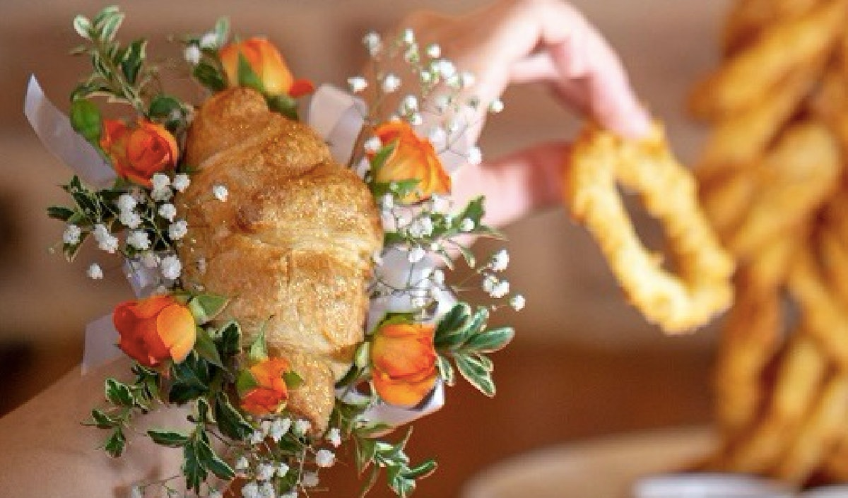 Cheddar's Scratch Kitchen Croissant Corsages Will Make You Want To Go To Prom Again