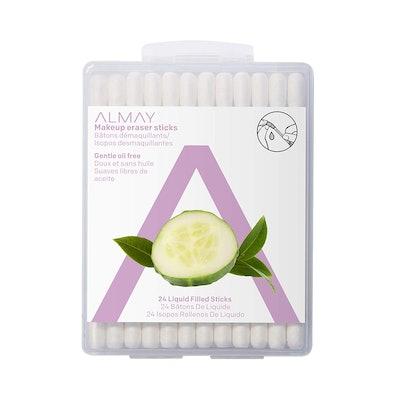 Almay Oil-Free Makeup Eraser Sticks (24 Pack)