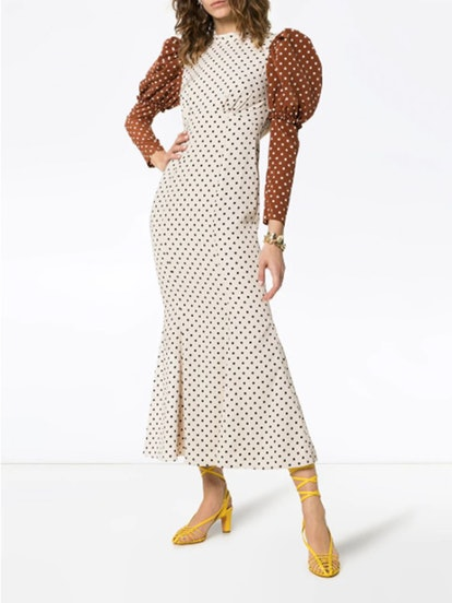 Sibylle Polka-Dot Dress