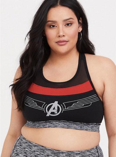 Her Universe Marvel Avengers Endgame Sports Bra