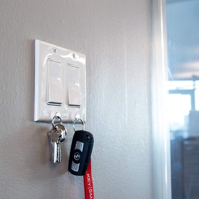 KeySmart KeyCatch Magnetic Key Rack (6 Pack)