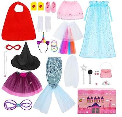 Toijoy Girls Dress Up Trunk