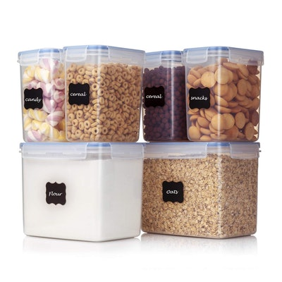 Vtopmart Airtight Food Storage Containers (Set of 6)