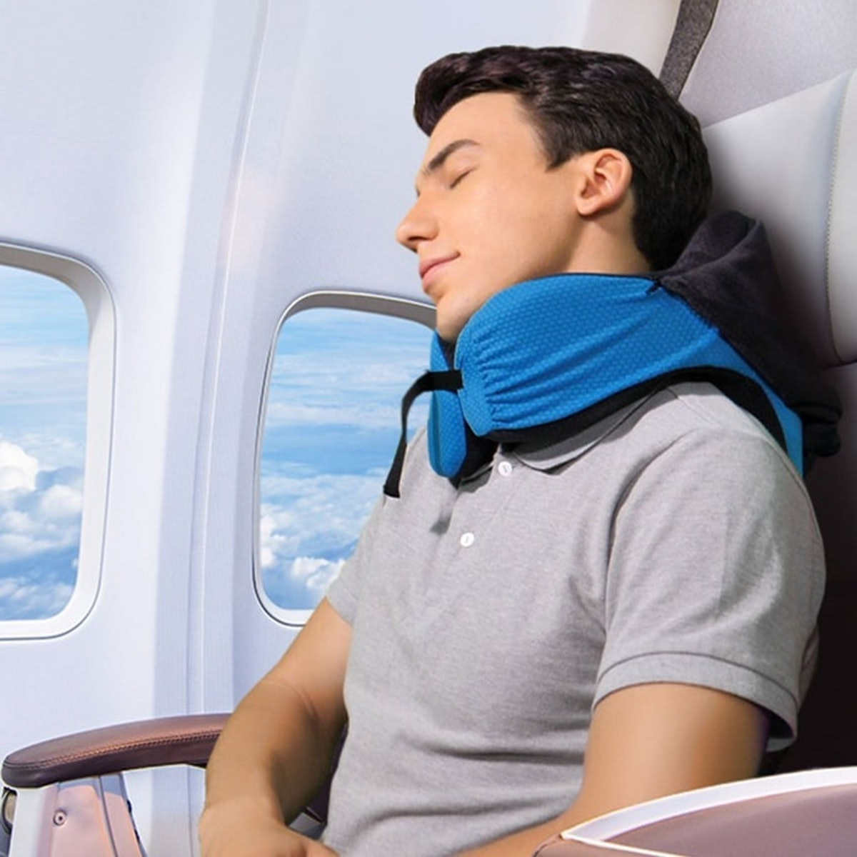 Langria Six-In-One Travel Pillow