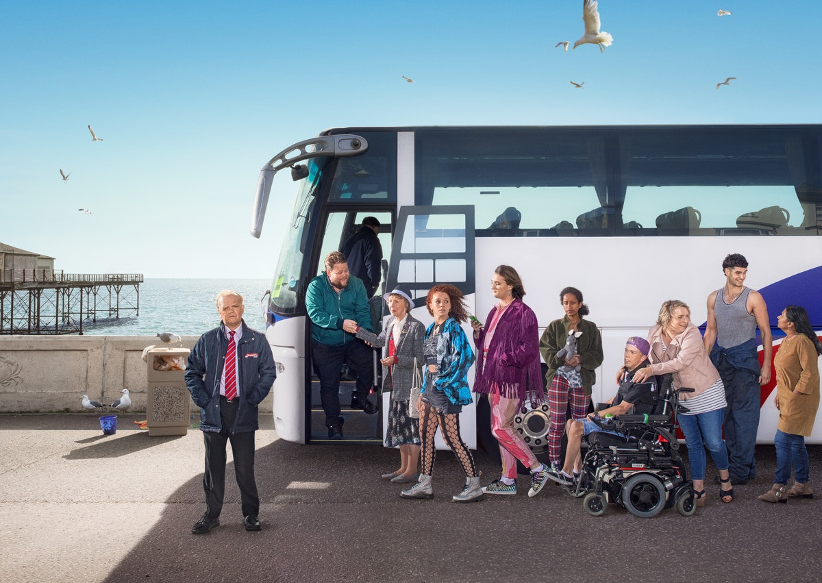 Where Is 'Don't Forget The Driver' Filmed? The New BBC Show Has Strong Ties To An Iconic British Seaside Town