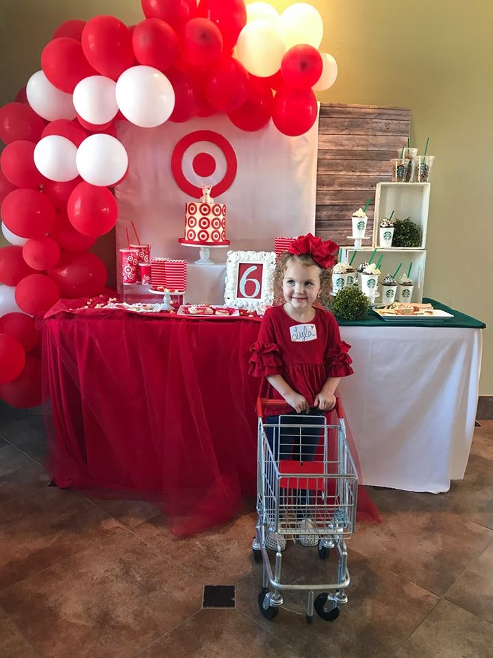 This Target Themed Birthday Party For A 6 Year Old Is Everything