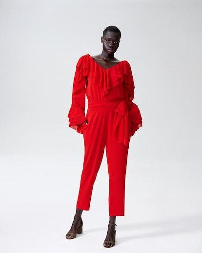Rodarte x Universal Standard Jumpsuit - Red