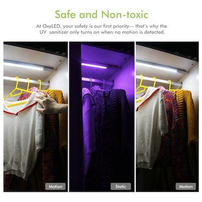 OxyLED Motion Sensor Wardrobe Lights